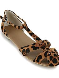 Suede Casual Flat Heel Sandals