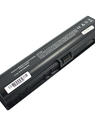 5200mAH Replacement Laptop Battery for HP Compaq Pavilion DV2000 DV6000 v3000 G7000 Presario A900 C700 F500 - Black