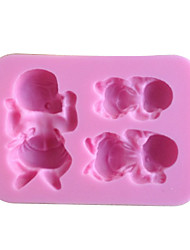 1PCS Baby Shape Chocolate Candy Mold