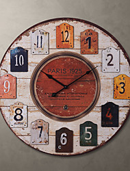 "23""H Country Style Wall Clock"