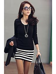 Mini Vestido para Mujer con Rayas