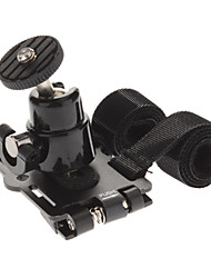 "1/4"" Motorcycle Bike Bicycle Mount Holder for Digital Camera - Black"
