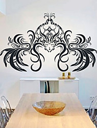 People Long Hair Wall Stickers