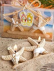 """4 """"presente bonito estilo Starfish tealight novidade"""