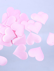 Wedding Décor Heart Shaped Petal-Set of 100 Pieces(More Colors)