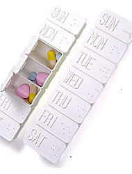 Portable Long Pills Case
