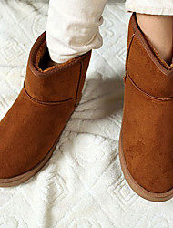 Unisex Isolierte Camel Winter Short Boots