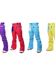 Outdoor Unisex Pants Skiing / Snowsports / Downhill / Backcountry / SnowboardingWaterproof / Breathable / Totally Waterproof (20,000mm+)