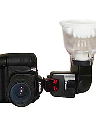 lambency Blitz-Diffusor p3 w / Kuppelabdeckung für Nikon SB26 / SB27 / SB28 / Sony F56AM / Sigma EF500