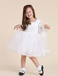 Alargamento mangas vestido da menina