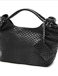 Women's Most Popular Weave Embossing  Tote Bag