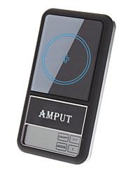 500g 0,1 g Professionelle Digital Mini Pocket Scale (Schwarz)