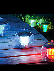 Mudando a cor de Energia Solar LED Bola Lago Lamp Piscina Pond Floating