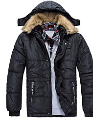 Dos homens venda casaco grosso Hot