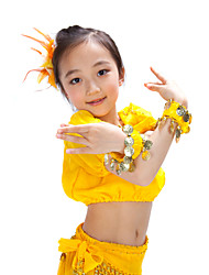 Lovely Performance Chiffon Belly Dance Twin Bracelets For Children(More Colors)