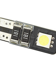 Merdia 2 Smd LED Dashboard T10 12V luz blanca Can-Bus (par)-LEDD004T10A2