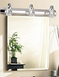 LED / Bulb Included Bathroom Lighting,Modern/Contemporary LED Integrated Metal