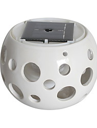 Zonne-energie Tafellampen Keramische Sun Jar Light