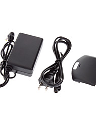 Ac Home Wall Travel Charger For Sony Psp 1000 Series + Battery Back Cover Door