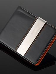 padrino de boda regalo de cuero personalizada clip de dinero