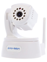 "720P HD da 1/4 ""CMOS Wireless IP Camera PT (P2P, Plug and Play, Giorno di visione notturna, supporto SD card 32G)"