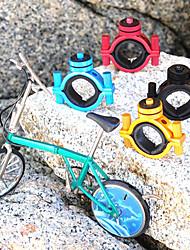 Negro bicicletas manillar de la cámara
