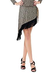 Moda Dancewear Viscose Saia Dança para Senhoras
