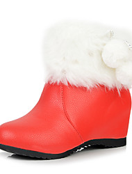 Lackleder Plat Heel Ankle Boots (weitere Farben)
