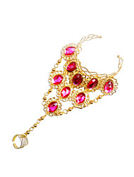 Dancewear Alloy Belly Dance Bracelet With Gems For Ladies(More Colors)