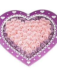 Heart Shaped Rose Petal Soaps Weeding Favor