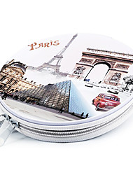 Modern Iron French Tourist Attractions CD Case(24pcs)