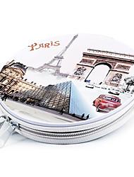 Atrações modernos Ferro francês turísticos CD de caso (24pcs)