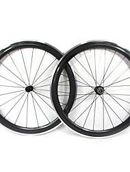 Farsports-700c stradali 50 millimetri di carbonio della strada della graffatrice delle rotelle di bicicletta con la lega di freno