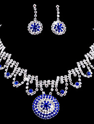Jewelry Set Women's Birthday / Gift / Party / Special Occasion Jewelry Sets Alloy Rhinestone Necklaces / Earrings As the Picture