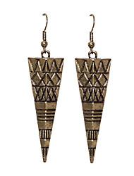 Earring Drop Earrings Jewelry Women Party / Daily Alloy Bronze