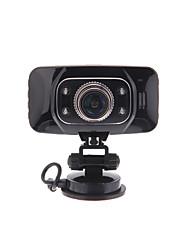 GS8000 5.0MP écran LCD 2,7 pouces voiture DVR 1080P avec HDMI / AV OUT / TF / Support GPS et G-Sensor - Noir