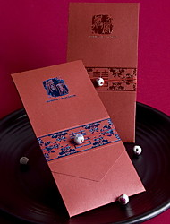 Asian Style Wedding Invitation - Set of 50 (More Colors)
