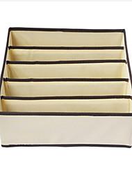5 Fach Vlies Unterwäsche Aufbewahrungsbox (2 Farben erhältlich)
