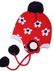Зимние девушки цветка Hat