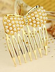 Clássico de Ouro Liga de pentes para as mulheres (de Ouro)