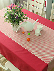 Table Cloth, Polyester, Striped