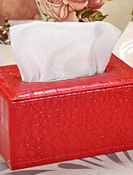 Crocodile Lines Tissue Box-3 Colours Available