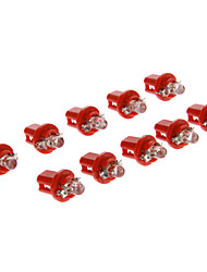B8.5D 1-LED 10-20LM Red Light-LED für Auto (12V, 10 Stück)