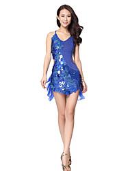Dancewear Vestido de viscosa baile latino para las señoras