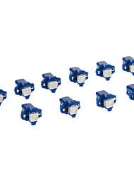 B8.5D 1x5050SMD 10-20LM Blue Light-LED für Auto (12V, 10 Stück)