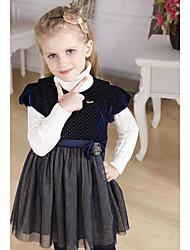 Mädchen Jahrgang Spleißen Princess Dress