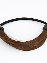 Doux perruque de style cravates de cheveux