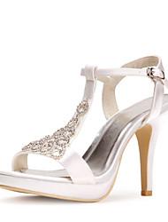Satin  Wedding Stiletto Sandals(More Colors)