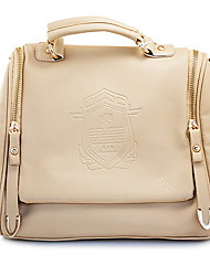 Daisyley женщин старинных Pu Белый Tote сумка через плечо