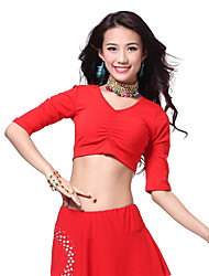 Dancewear Cotton Belly Dance Top For Ladies(More Colors)